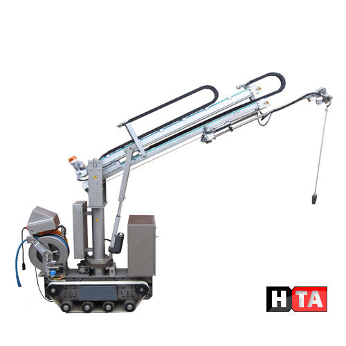 Reinigingsrobot Machinebouw